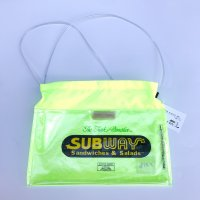 AIRR - SUPER PLASTIC BAG / fluorescent yellow