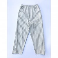 AWA - 4 pockets wide pants / Stripe