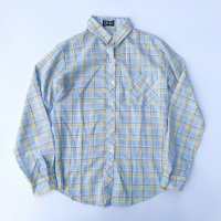 1980s gap pastel color shirt