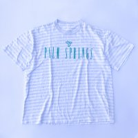 PALM SPRINGS border T-shirt<img class='new_mark_img2' src='//img.shop-pro.jp/img/new/icons10.gif' style='border:none;display:inline;margin:0px;padding:0px;width:auto;' />