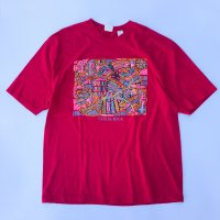 COSTA RICA Soulvenir T-shirt / Red<img class='new_mark_img2' src='//img.shop-pro.jp/img/new/icons10.gif' style='border:none;display:inline;margin:0px;padding:0px;width:auto;' />