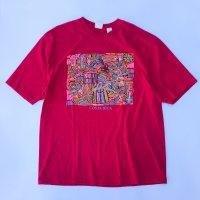 COSTA RICA Soulvenir T-shirt / Red