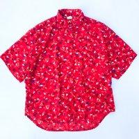 1980s Modern pattern s/s shirt
