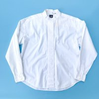 1990s GAP embroidery design stand collar shirt