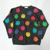 1980s Swirl design sweater