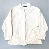 Fleece jkt / White