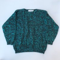 1980s FORENZA mix knit