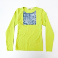 30%OFF QFD - AW19 CRASHED VELVET TOP / Green×Blue<img class='new_mark_img2' src='https://img.shop-pro.jp/img/new/icons20.gif' style='border:none;display:inline;margin:0px;padding:0px;width:auto;' />