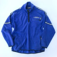Design half-zip fleece jkt / Blue
