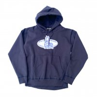 SPUT performance - PLAY ZOUK hoodie / Navy