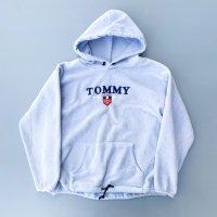 TOMMY JEANS fleece hoodie / Pale lavender