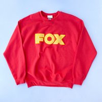 SPUT performance - FOX sweatshirts / Paprika<img class='new_mark_img2' src='https://img.shop-pro.jp/img/new/icons10.gif' style='border:none;display:inline;margin:0px;padding:0px;width:auto;' />