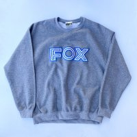 SPUT performance - FOX sweatshirts / G.Heather<img class='new_mark_img2' src='https://img.shop-pro.jp/img/new/icons10.gif' style='border:none;display:inline;margin:0px;padding:0px;width:auto;' />