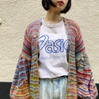 Handmade patchwork knit coat