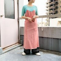 QFD - S/S Design dress 1.  RED/L.BLU