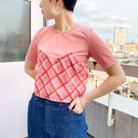 QFD - S/S Design check tops 1. RED