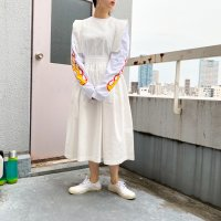 QFD - Cotton Dress  WHT