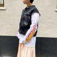 1990s XERS PVC sleeves jkt / CLR