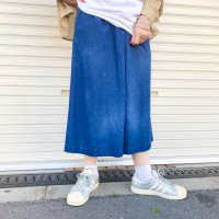 1980s L.L.Bean culotte denim pants