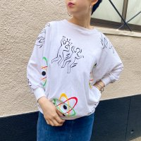 Dolman sleeve tops / WHT