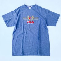 1980s FILA embroidery T-shirt