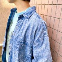 Old GAP Chemical wash denim shirt