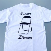 SPUT performance - 5Chairs 2Parsons T-shirt / WHT