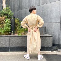 AWA - stilsleeve piping one piece / gold