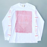 AWA - Love communication L/S T-shirt / RED
