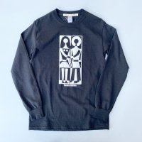 AWA - human relation L/S T-shirt / WHT