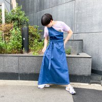 AWA - tua one shoulder op / Denim