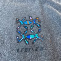 AWA - human relation L/S T-shirt / S.BK
