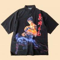 ''Kanji'' fighter design s/s shirt