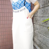QFD - THE HOUSE BOOK Apron dress<img class='new_mark_img2' src='https://img.shop-pro.jp/img/new/icons10.gif' style='border:none;display:inline;margin:0px;padding:0px;width:auto;' />