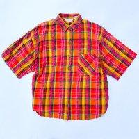 Madras check s/s shirt