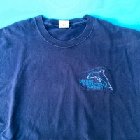 Dolphin embroidery T-shirt