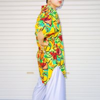 1980s USA Tropical pattern s/s shirt<img class='new_mark_img2' src='https://img.shop-pro.jp/img/new/icons10.gif' style='border:none;display:inline;margin:0px;padding:0px;width:auto;' />