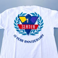 SLATER BUILDERS 10 YEAR ANNIVERARY T-shirt<img class='new_mark_img2' src='https://img.shop-pro.jp/img/new/icons10.gif' style='border:none;display:inline;margin:0px;padding:0px;width:auto;' />