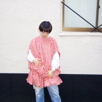 AWA - bud dress / gingham red