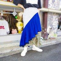 AWA - peresikia skirt / BEG × BLU
