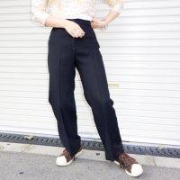1980s USA poly pants / BLK