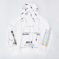 MUnited Kingdomai YUHEI - Flower gal Hoodie
