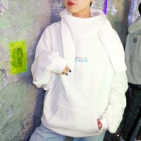 MUnited Kingdomai YUHEI - Embroidered Hoodie / WHT
