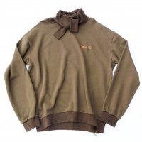 MUnited Kingdomai YUHEI - Embroidered Sweatshirt / BRN