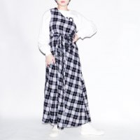AWA - tua one shoulder op / plaid<img class='new_mark_img2' src='https://img.shop-pro.jp/img/new/icons10.gif' style='border:none;display:inline;margin:0px;padding:0px;width:auto;' />