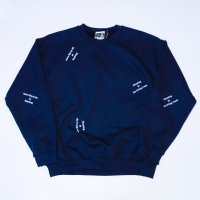 SPUT Performance - Sleeping in the living room SWEATSHIRT / NVY