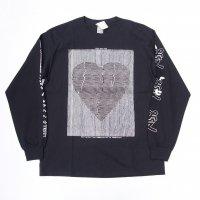 AWA - Love communication L/S T-shirt / BLK