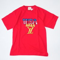 AREA LY - EMBROIDERED USED T-SHIRT 12.