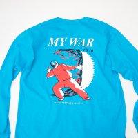 SPUT Performance - MY WAR L/S T-SHIRT / SAPPHIRE