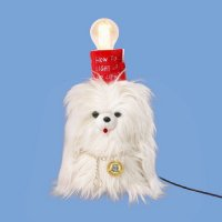 BY FEELING - LONG HAIR DOG LAMP